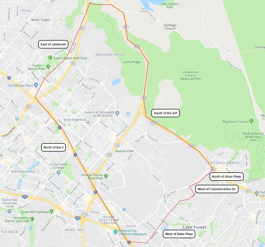 correct boundaries map2